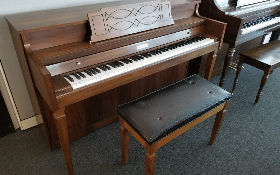 Schuerman 38″ Upright Piano #J15940