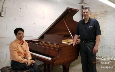 """""""Piano of the Week"""" – Steinway concert grand piano in walnut"""