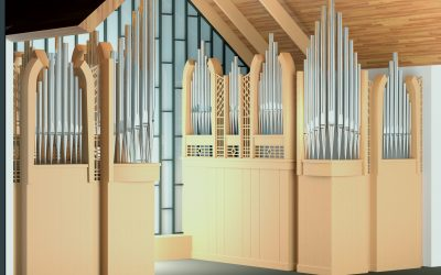 An exciting new organ by Fratelli Ruffatti right here in our region!
