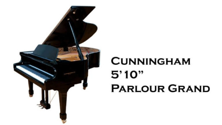 "The 5'10"" Cunningham Parlour Grand is one of the finest American-built piano"