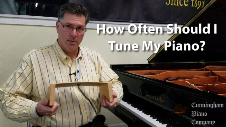 Rich Galassini explaining how often to tune your piano