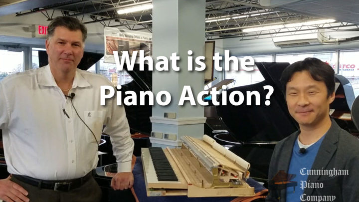Learn about the Piano action