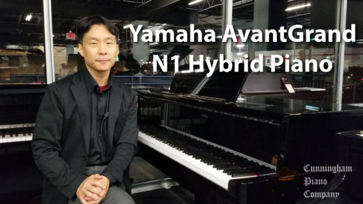 Yamaha AvantGrand N1 - A entry level Hybrid Piano