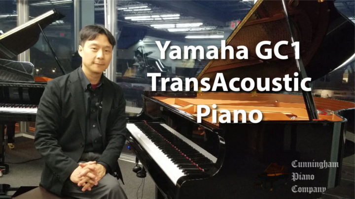 Beautiful 5'3″ acoustic grand piano with Yamaha's breakthrough transducer technology