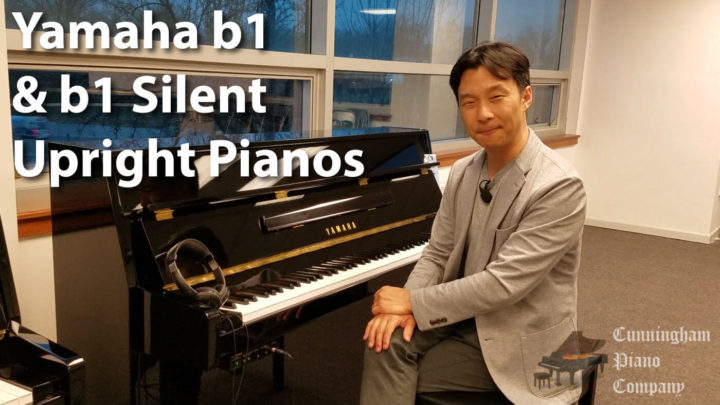 Yamaha b1 and b1 Silent Upright Pianos - Ideal for small spaces