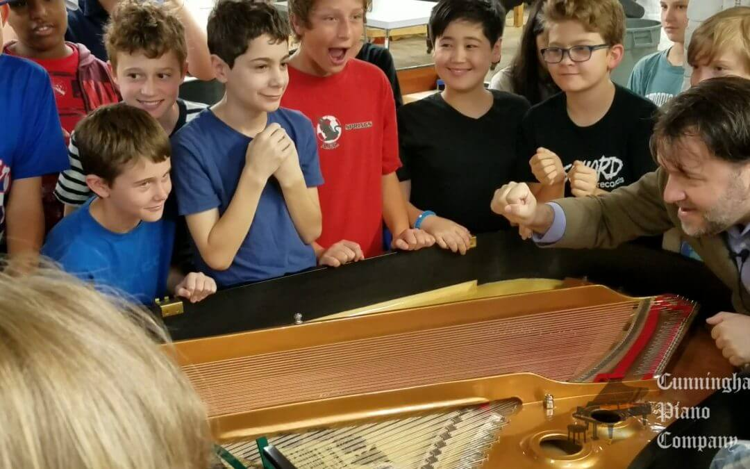 Cunningham Piano Factory Tour for 6th Graders students