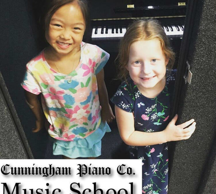 Our happy students at Cunningham Piano Music School