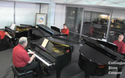 The Two By Fours Piano Quartet on The Cunningham Piano Show
