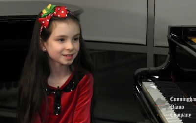 An 8 year old Prodigy on The Cunningham Piano Show