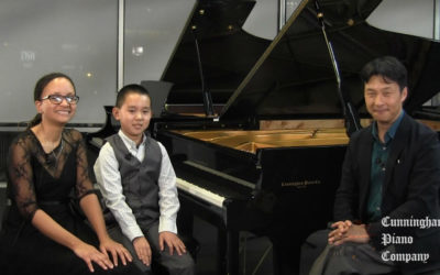 Speak Softly and Play a Big Piano | The Cunningham Piano Show