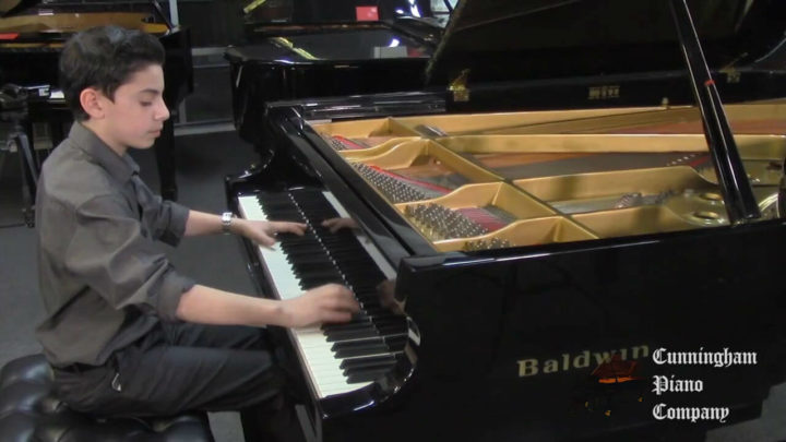 Young Beethoven on The Cunningham Piano Show