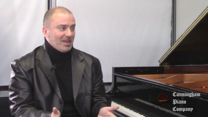 Daniel Immel - A concert pianist performing on The Cunningham Piano Show