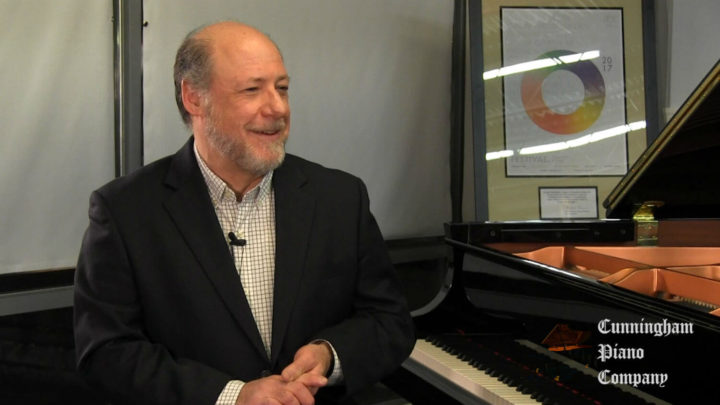 Pianist and composer Joshua Yudkin on The Cunningham Piano Show