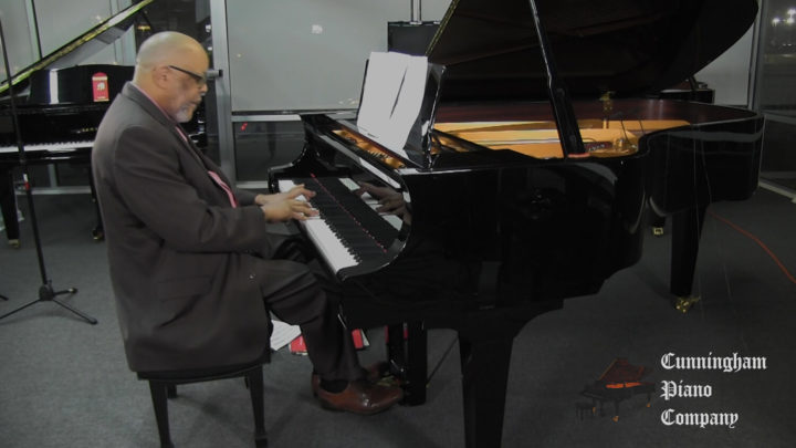 Charles Pettaway Performing on The Cunningham Piano Show