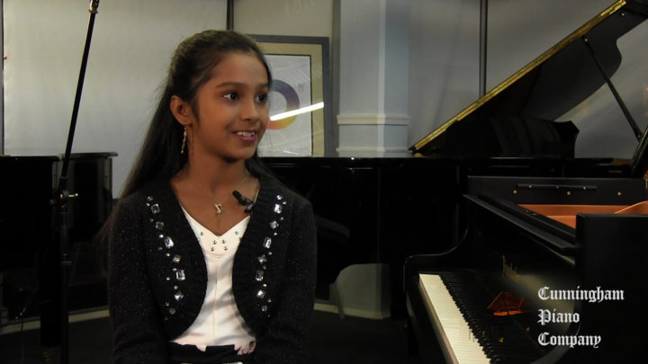 Piano DAncer - Reva Segireddy on The Cunningham Piano Show