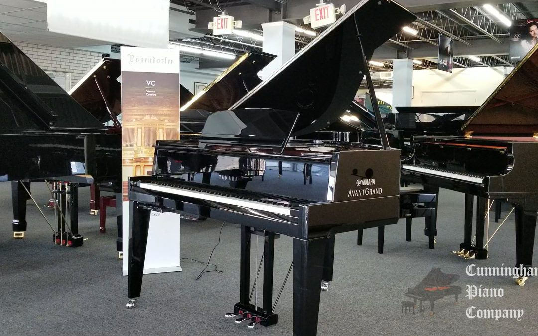 Piano Of The Week: Yamaha N3X AvantGrand Hybrid Piano