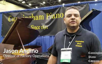 Cunningham Piano at the 2018 Piano Technicians Guild National Convention