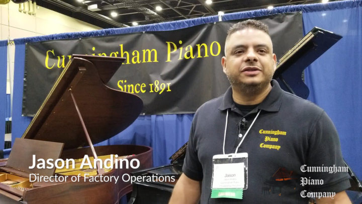 Jason Andino - Director of Factory Operations at Cunningham Piano Company