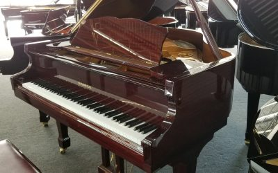 Samick 5′ Baby Grand Piano with Mahogany Finish #IJLGG00321