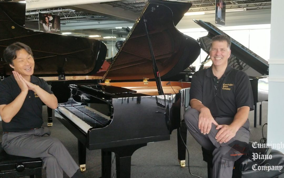 The USA's best selling grand piano: The Yamaha GB1K