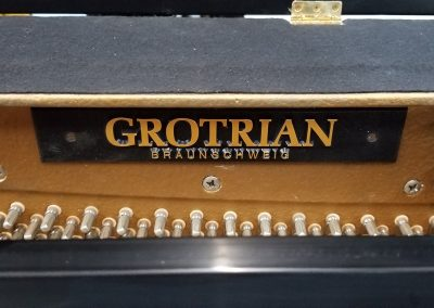 Grotrian Upright Piano - inside plate