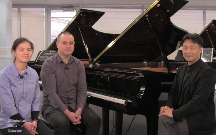 Interviewing John Silva & Peggy Yu on The Cunningham Piano Show