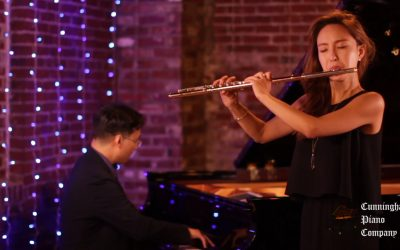 """Kiss The Rain"" by Yiruma with Jasmine Choi, Flute"