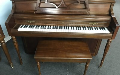 Wurlitzer Console in cherry