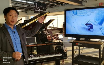 How to display Disklavier TV on a TV