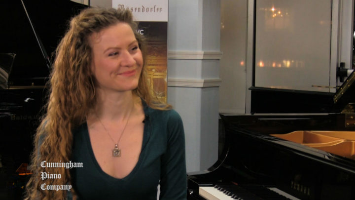 Russian-American pianist Asiya Korepanova on The Cunningham Piano Show