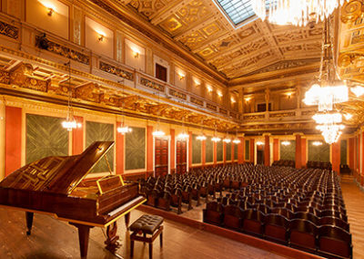 Beautiful Bosendorfer Piano in Hall