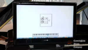 Displaying notes and cords using TimeWarp Technologies