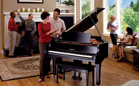 People are Enjoying at Mark IV Disklavier Party With Ultimate Piano
