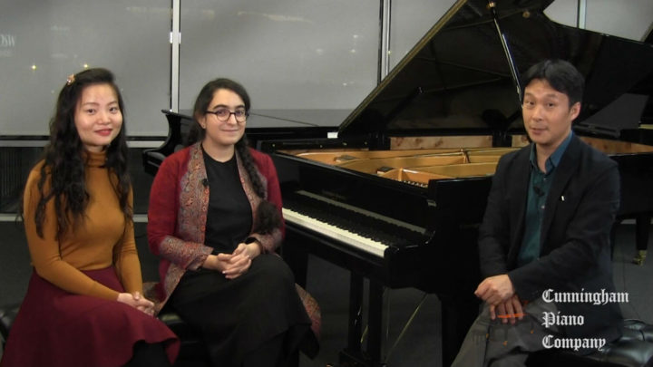 Negar Ghasemi and Meng Hao on The Cunningham Piano Show