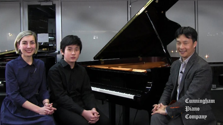 Henry Wu & Anna Kislitsyna on The Cunningham Piano
