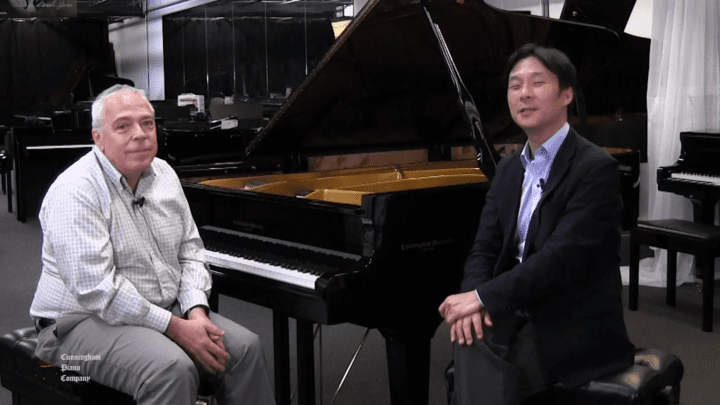 Mike Evaniuk on The Cunningham Piano Show