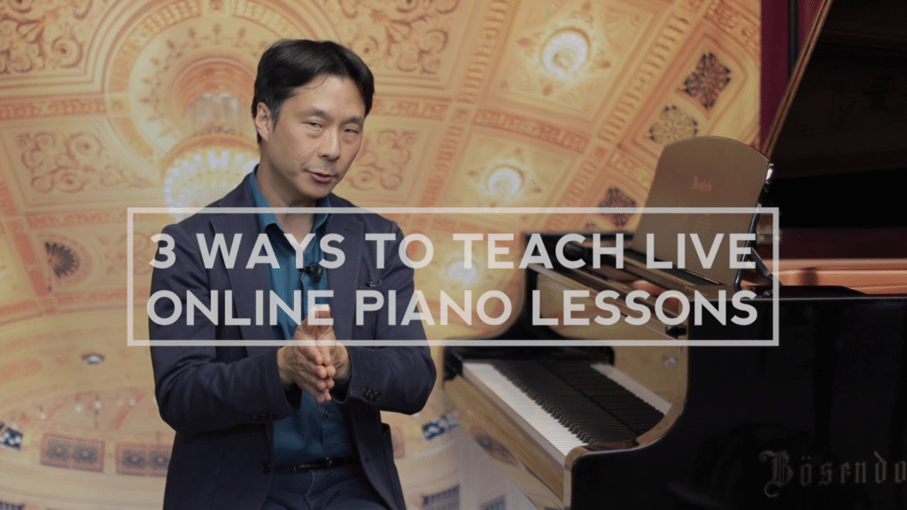 How to teach online piano lessons