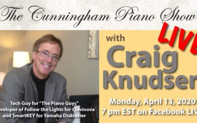 Cunningham Piano Show LIVE with Craig Knudsen