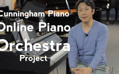 Cunningham Piano Online Piano Orchestra Project