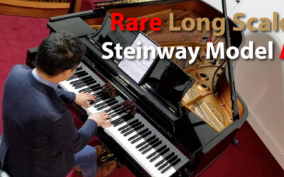 Rare 1912 Steinway Long Scale Model A 6'4″ Grand Piano